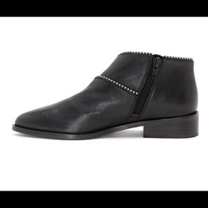 Lucky Brand Slip on Ankle Boots Studded
